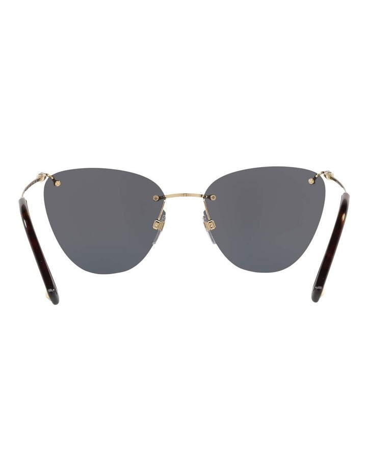 Grey Metal Cat Eye Sunglasses VA2022 437593 image 7