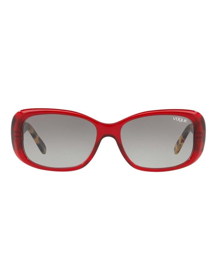 Grey Rectangle Sunglasses VO2606S 437612 image 2