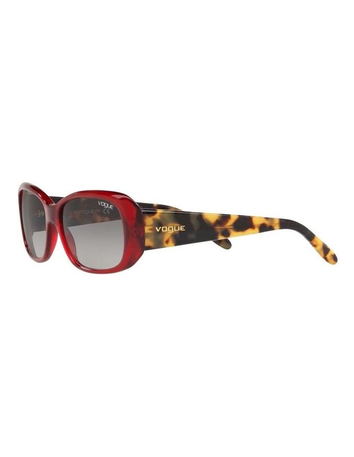 Grey Rectangle Sunglasses VO2606S 437612 image 3