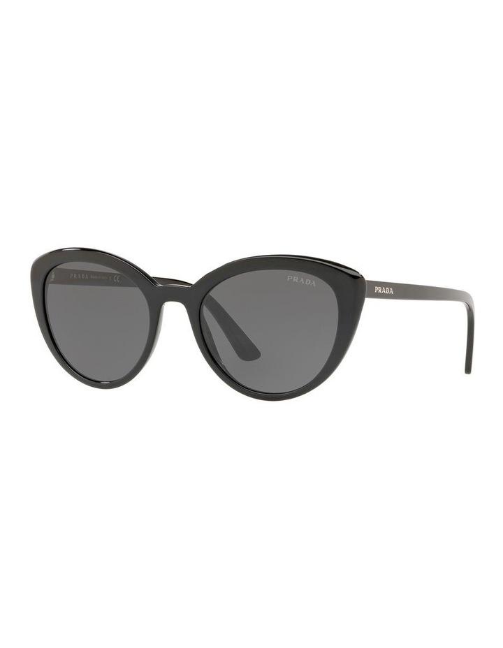 Grey Cat Eye Sunglasses PR 02VS 439968 image 1