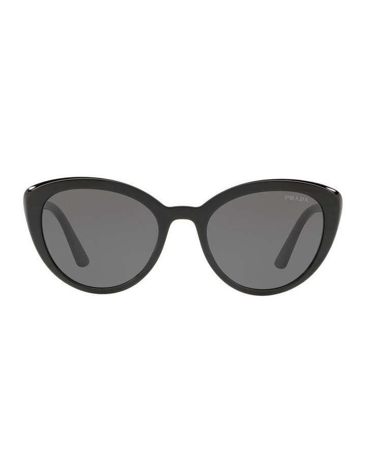 Grey Cat Eye Sunglasses PR 02VS 439968 image 2