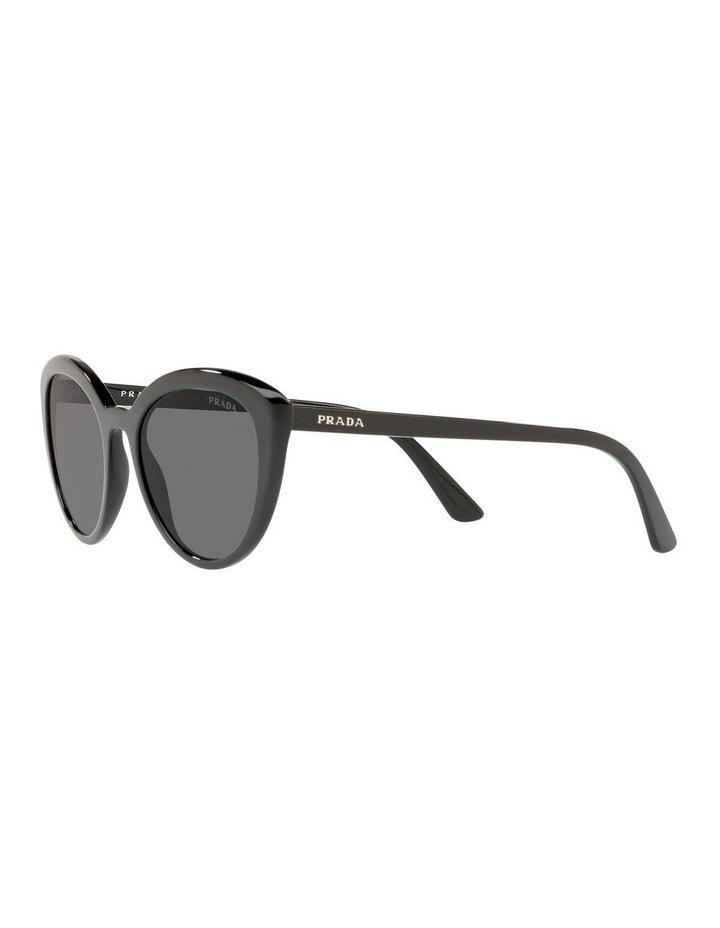 Grey Cat Eye Sunglasses PR 02VS 439968 image 3