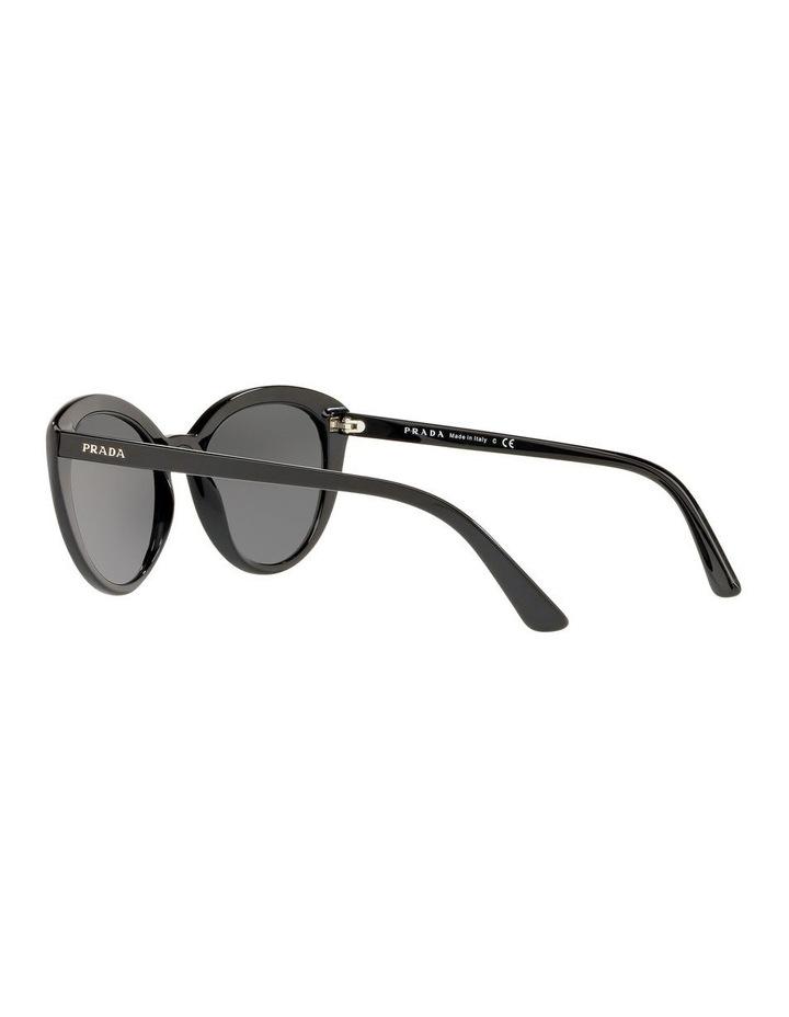 Grey Cat Eye Sunglasses PR 02VS 439968 image 4
