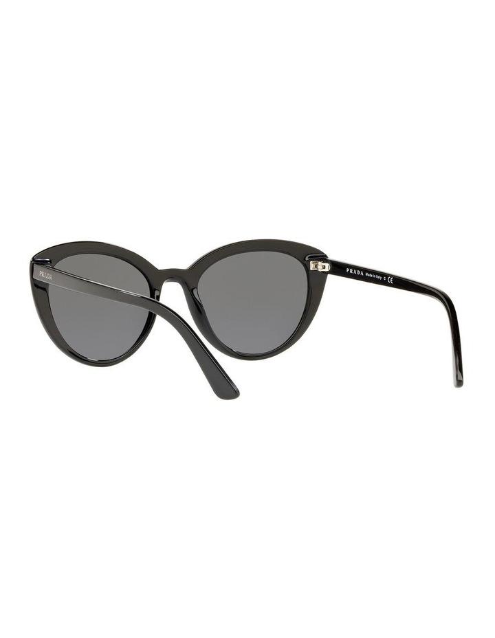 Grey Cat Eye Sunglasses PR 02VS 439968 image 5