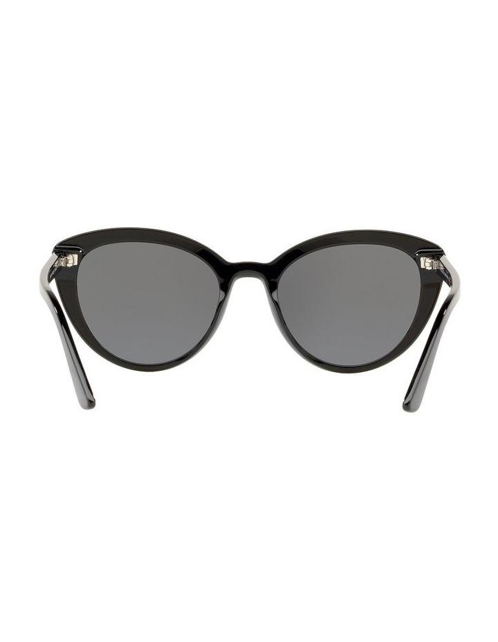 Grey Cat Eye Sunglasses PR 02VS 439968 image 6