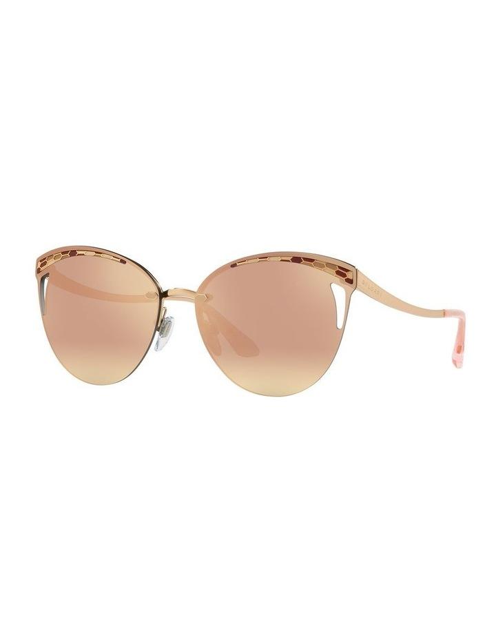 Pink Cat Eye Sunglasses BV6110 439270 image 1