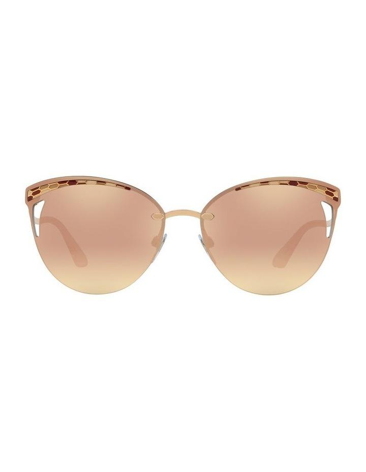 Pink Cat Eye Sunglasses BV6110 439270 image 2