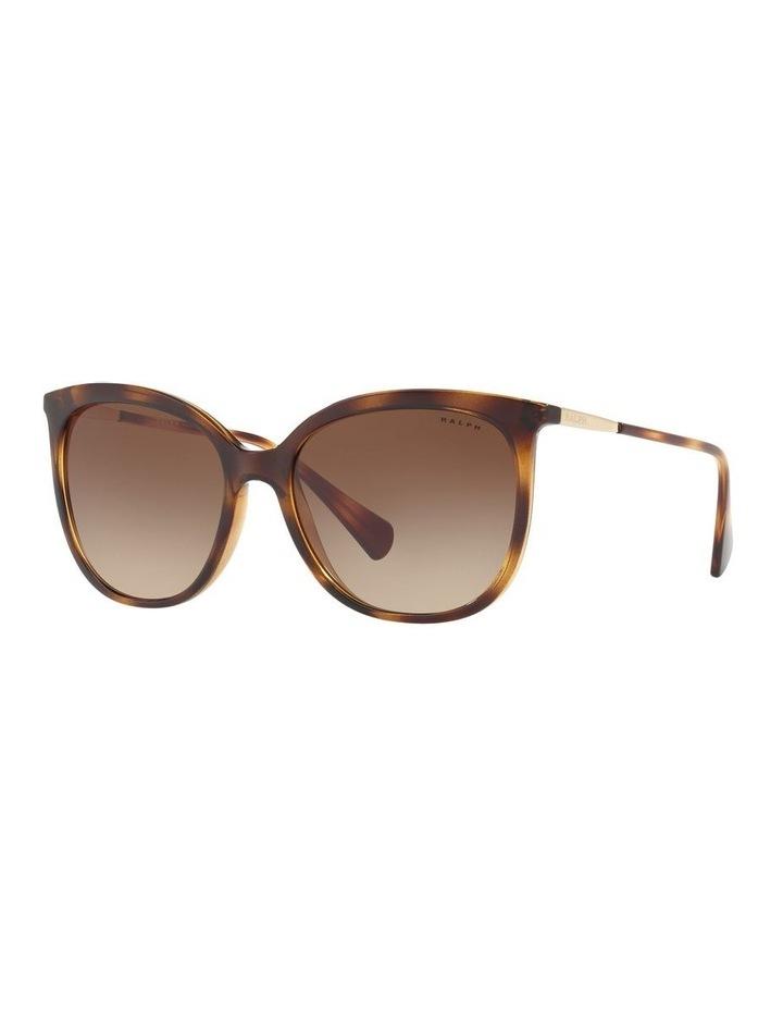 Brown Cat Eye Sunglasses RA5248 439823 image 1