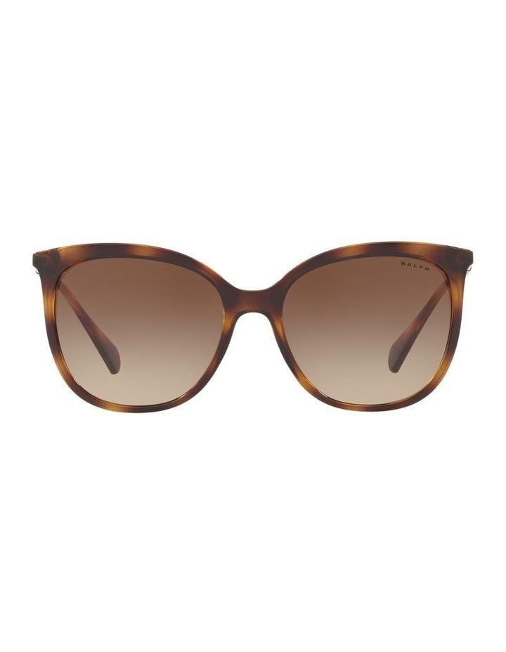 Brown Cat Eye Sunglasses RA5248 439823 image 2