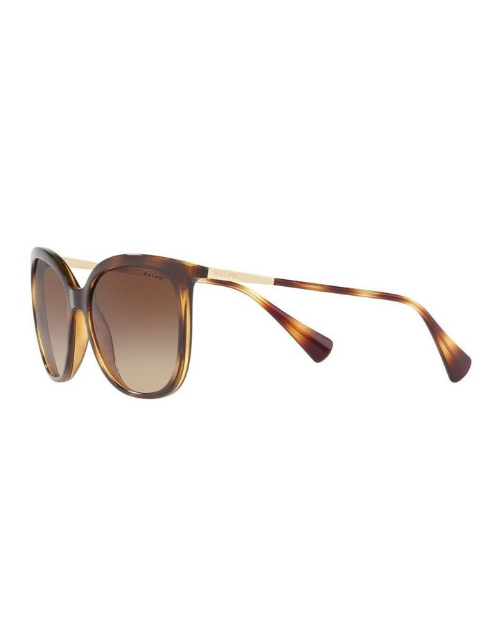 Brown Cat Eye Sunglasses RA5248 439823 image 3