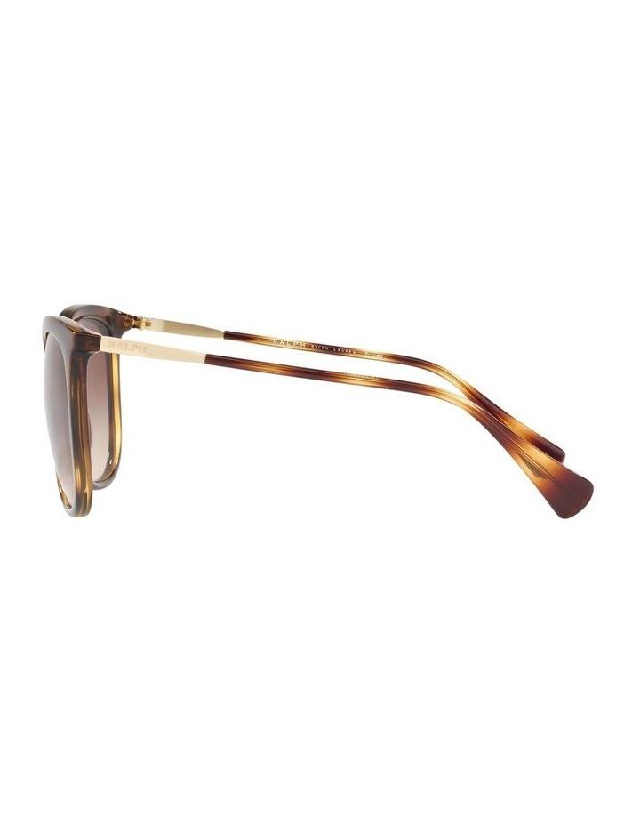 Brown Cat Eye Sunglasses RA5248 439823 image 4