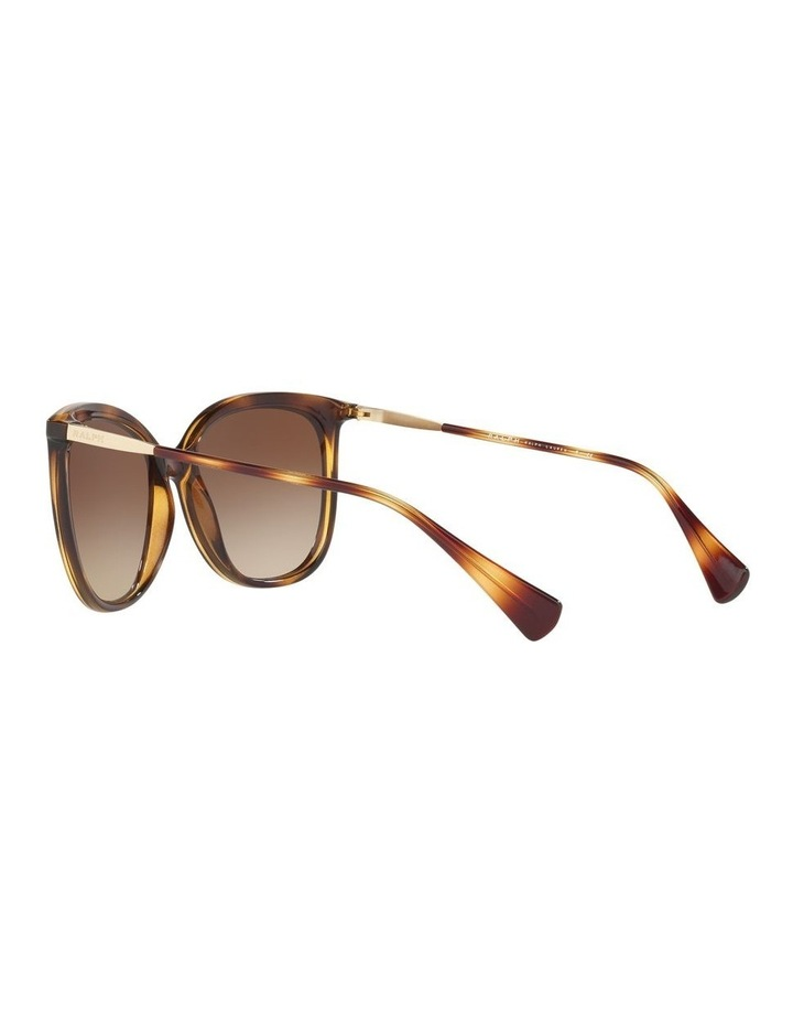 Brown Cat Eye Sunglasses RA5248 439823 image 5