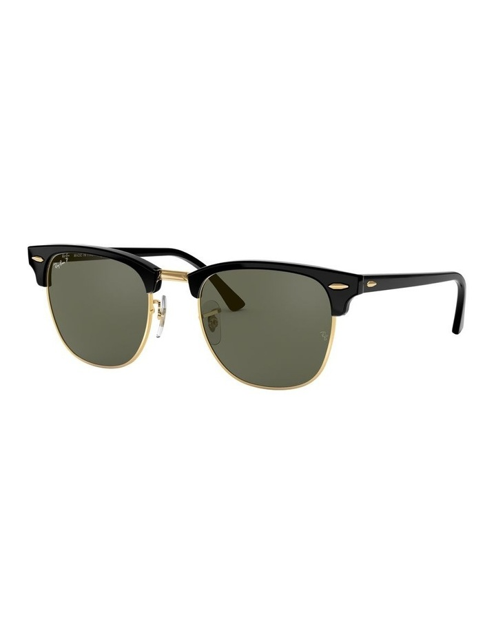 0RB3016F Clubmaster 1519000001 Polarised Sunglasses image 1