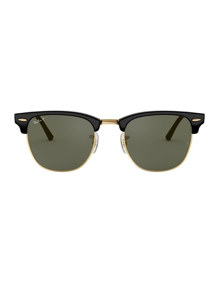 0RB3016F Clubmaster 1519000001 Polarised Sunglasses image 2
