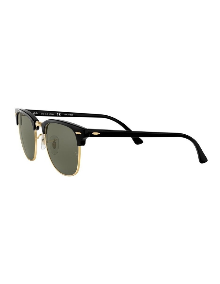 0RB3016F Clubmaster 1519000001 Polarised Sunglasses image 3