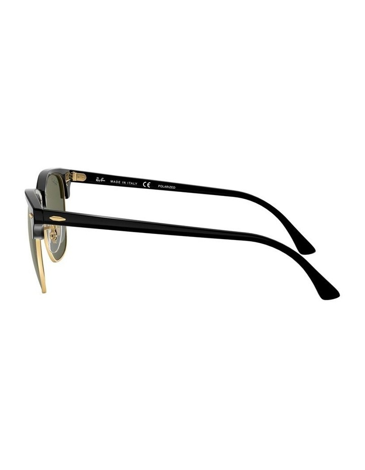 0RB3016F Clubmaster 1519000001 Polarised Sunglasses image 4