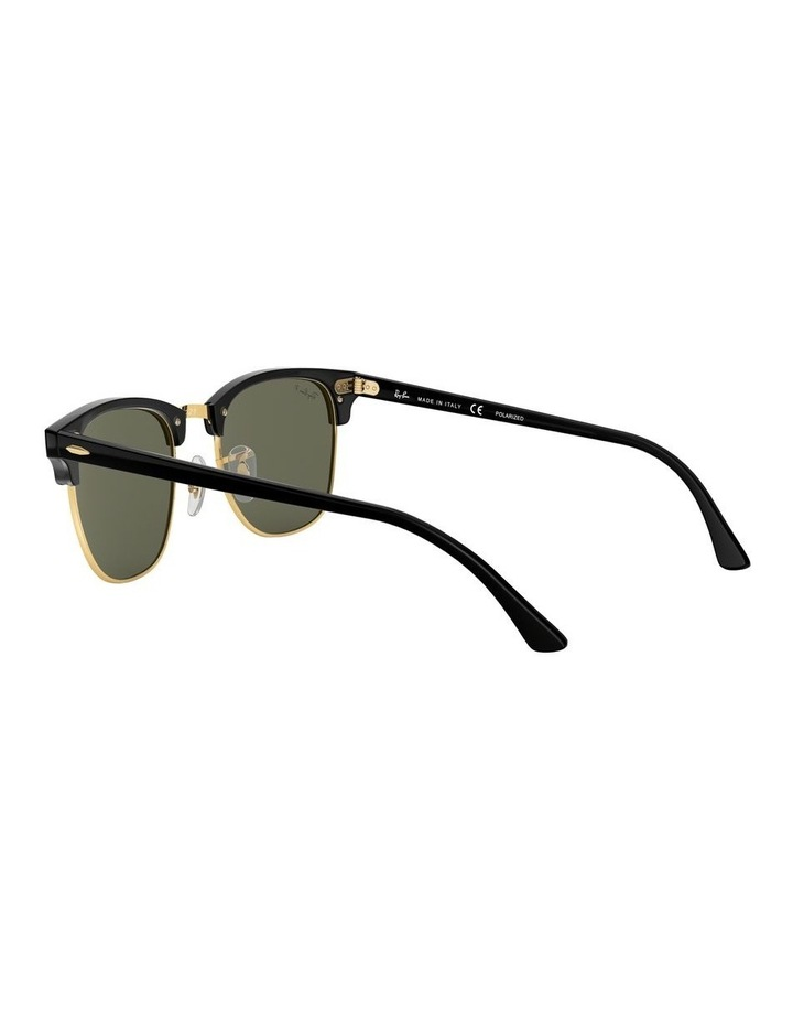 0RB3016F Clubmaster 1519000001 Polarised Sunglasses image 5