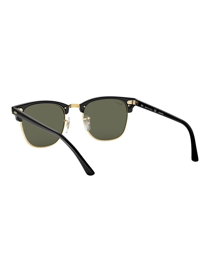 0RB3016F Clubmaster 1519000001 Polarised Sunglasses image 6