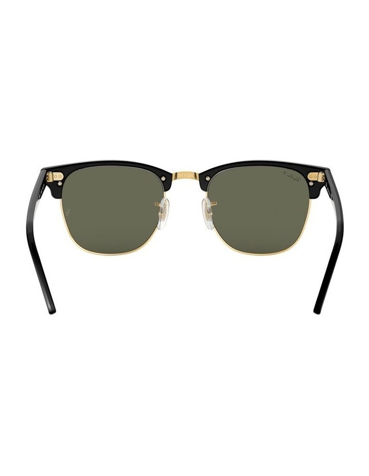 0RB3016F Clubmaster 1519000001 Polarised Sunglasses image 7