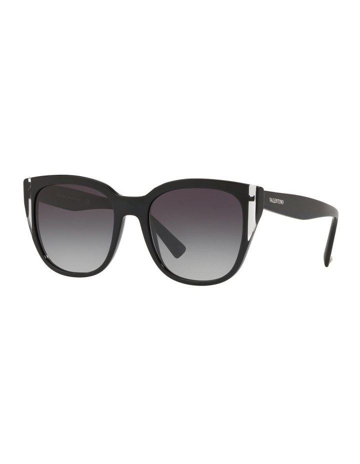 Grey Oval Sunglasses VA4040 439577 image 1