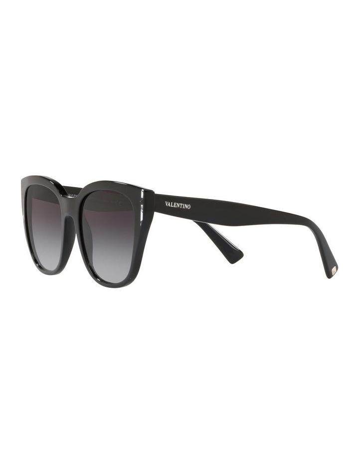 Grey Oval Sunglasses VA4040 439577 image 3