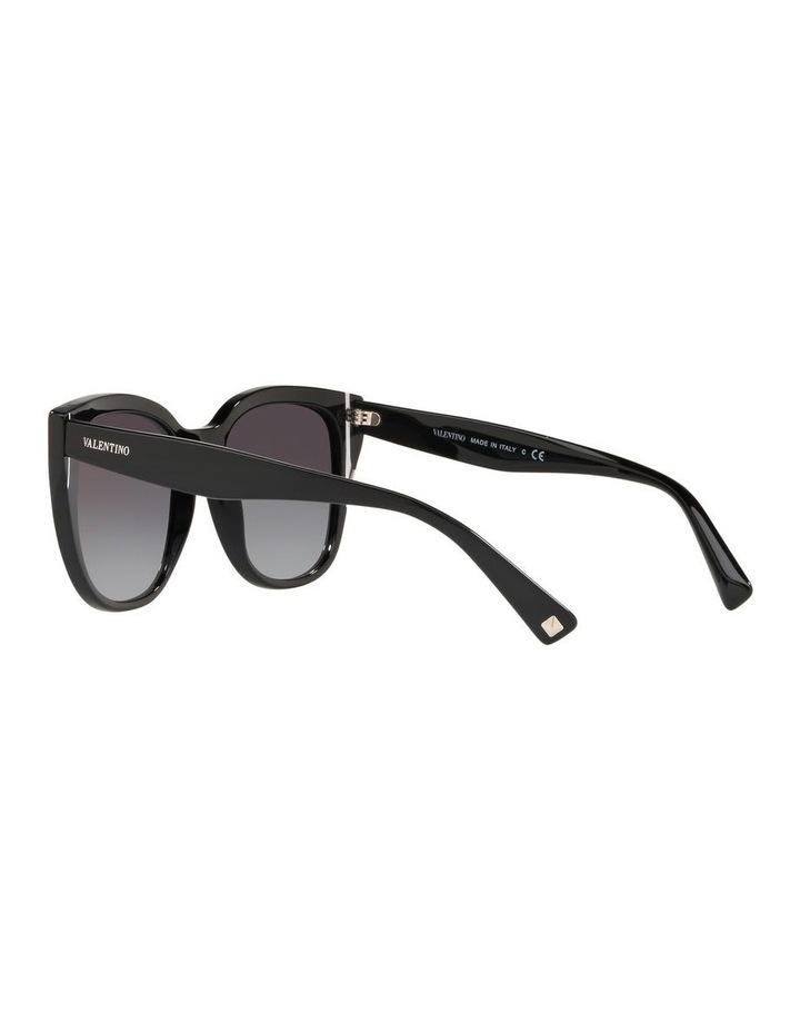 Grey Oval Sunglasses VA4040 439577 image 5
