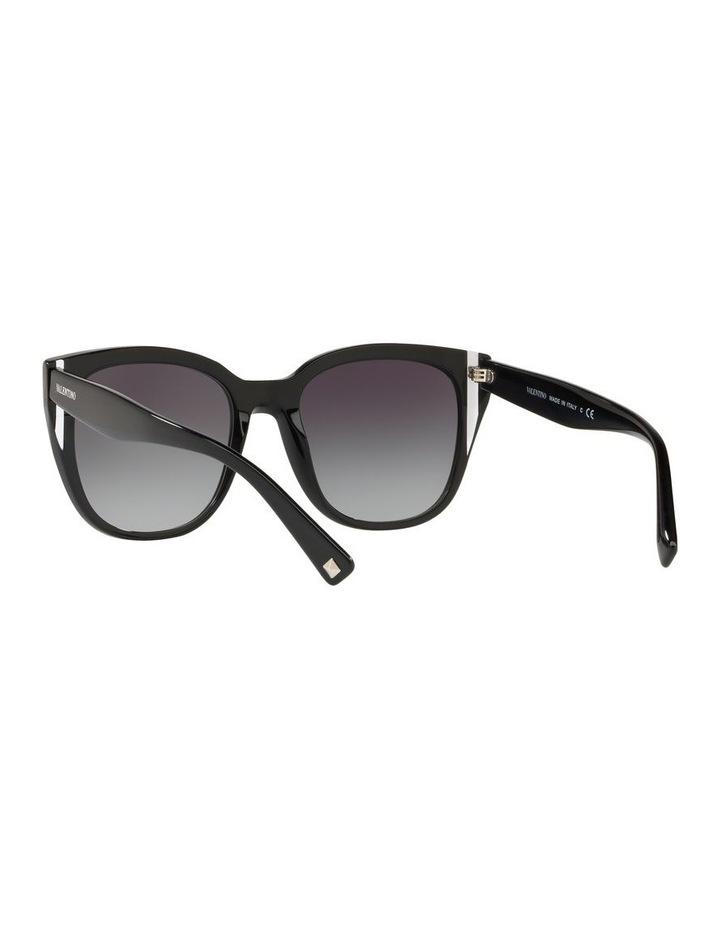 Grey Oval Sunglasses VA4040 439577 image 6