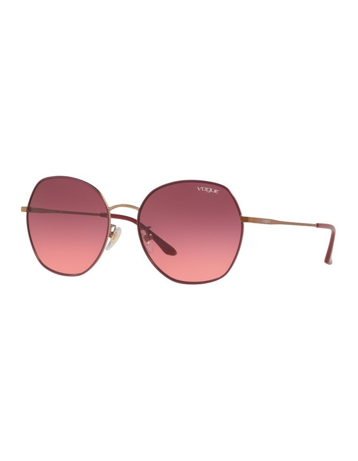 Pink Round Sunglasses VO4115SD 439278 image 1