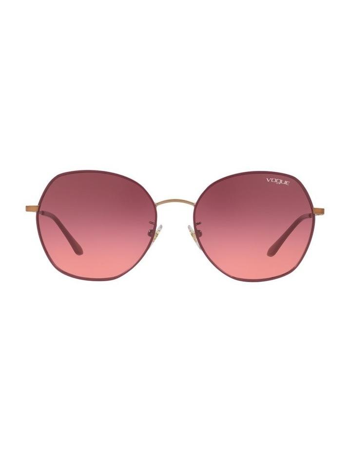 Pink Round Sunglasses VO4115SD 439278 image 2