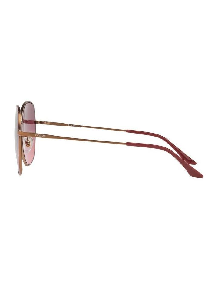 Pink Round Sunglasses VO4115SD 439278 image 4