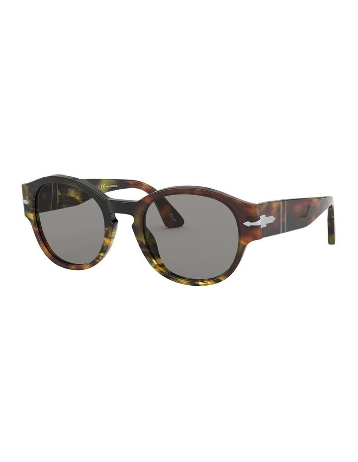 Grey Oval Sunglasses 0PO3230S 1527602001 image 1