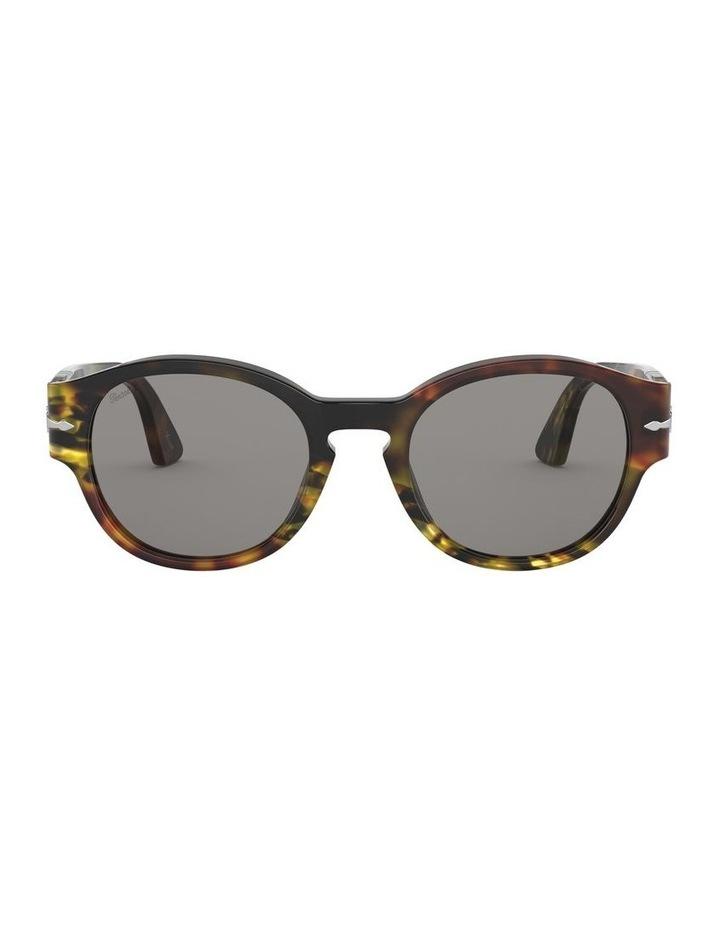Grey Oval Sunglasses 0PO3230S 1527602001 image 2