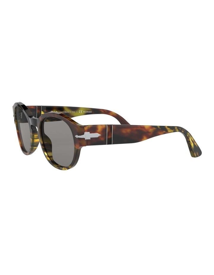 Grey Oval Sunglasses 0PO3230S 1527602001 image 3