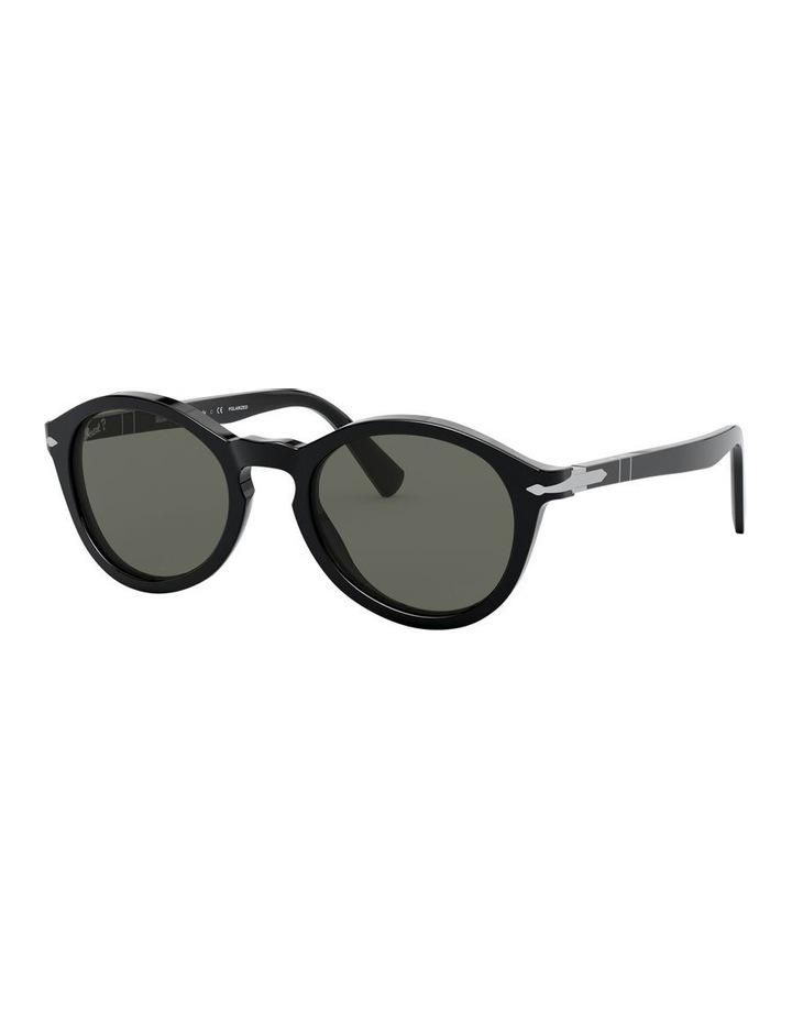 Green Oval Sunglasses 0PO3237S 1527603002 image 1