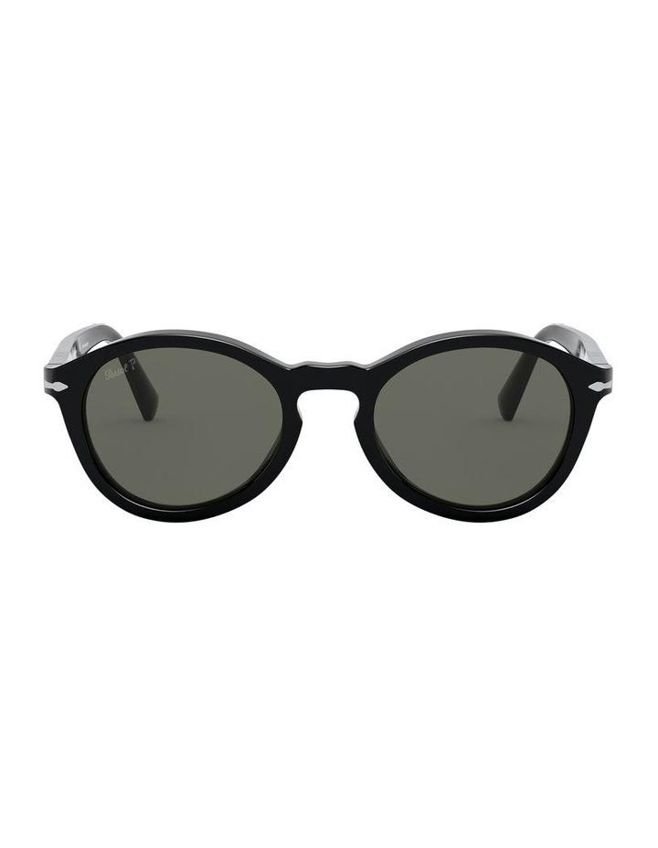 Green Oval Sunglasses 0PO3237S 1527603002 image 2