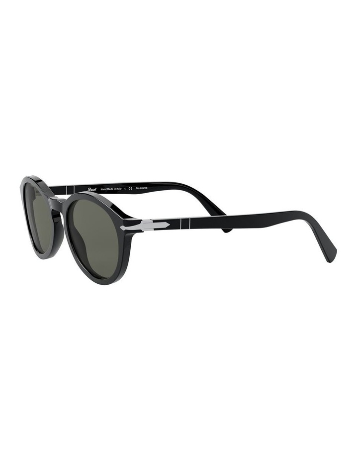 Green Oval Sunglasses 0PO3237S 1527603002 image 3