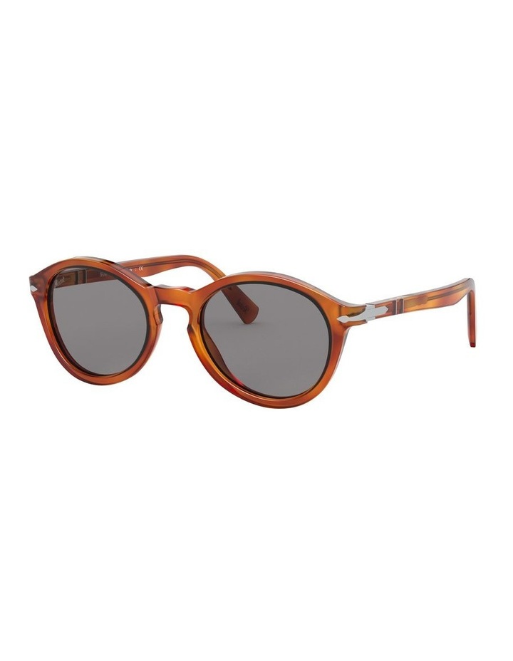 Grey Oval Sunglasses 0PO3237S 1527603003 image 1