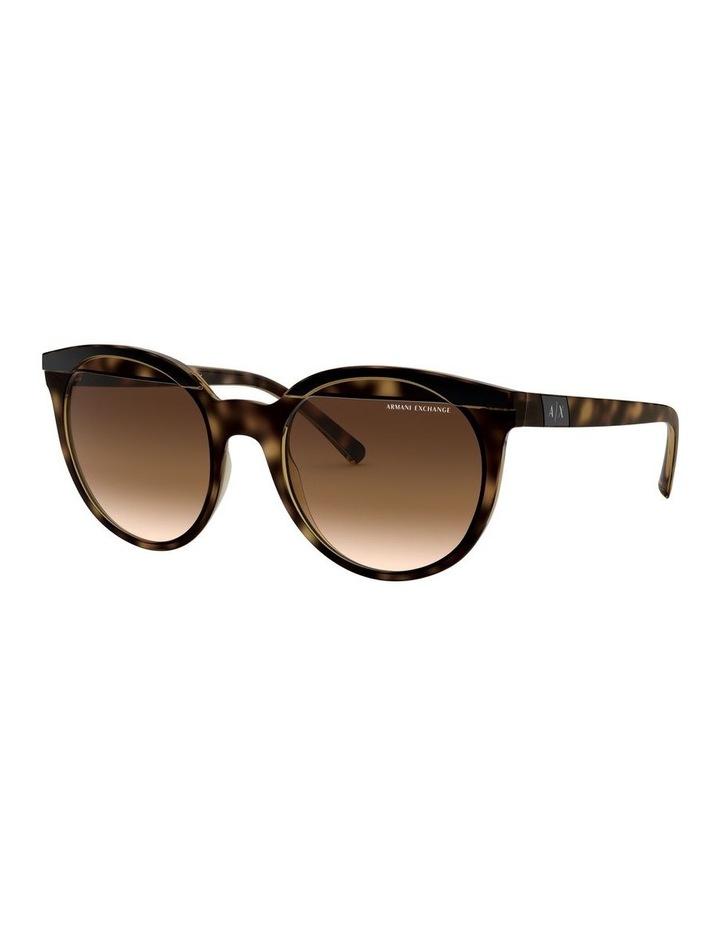 Brown Round Sunglasses 0AX4086S 1523371003 image 1