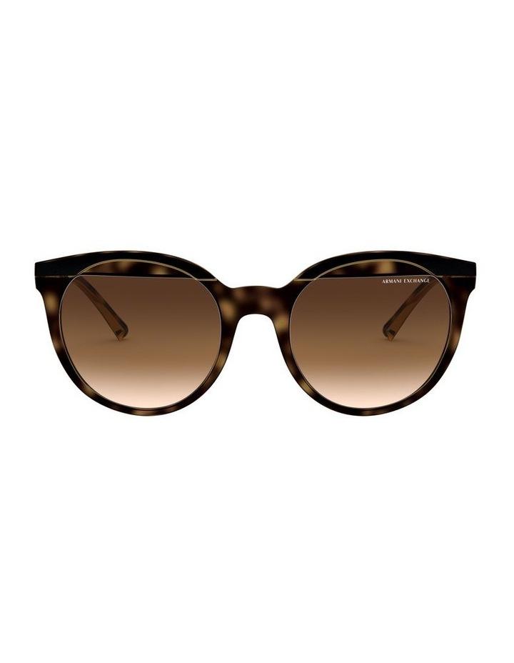Brown Round Sunglasses 0AX4086S 1523371003 image 2