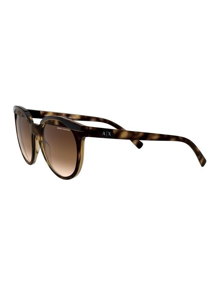 Brown Round Sunglasses 0AX4086S 1523371003 image 3