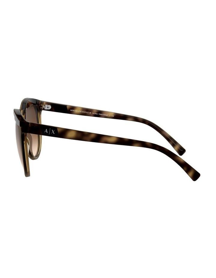 Brown Round Sunglasses 0AX4086S 1523371003 image 4