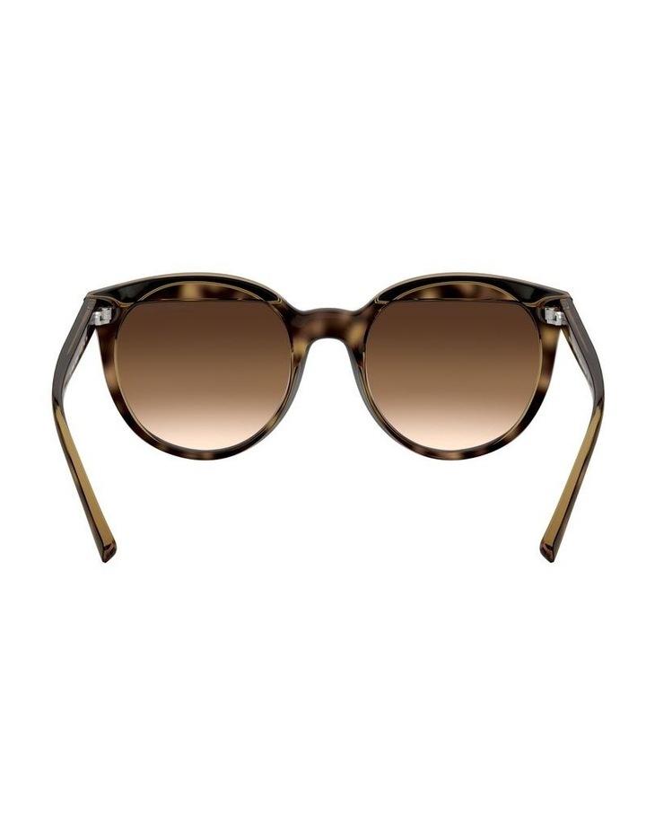 Brown Round Sunglasses 0AX4086S 1523371003 image 7