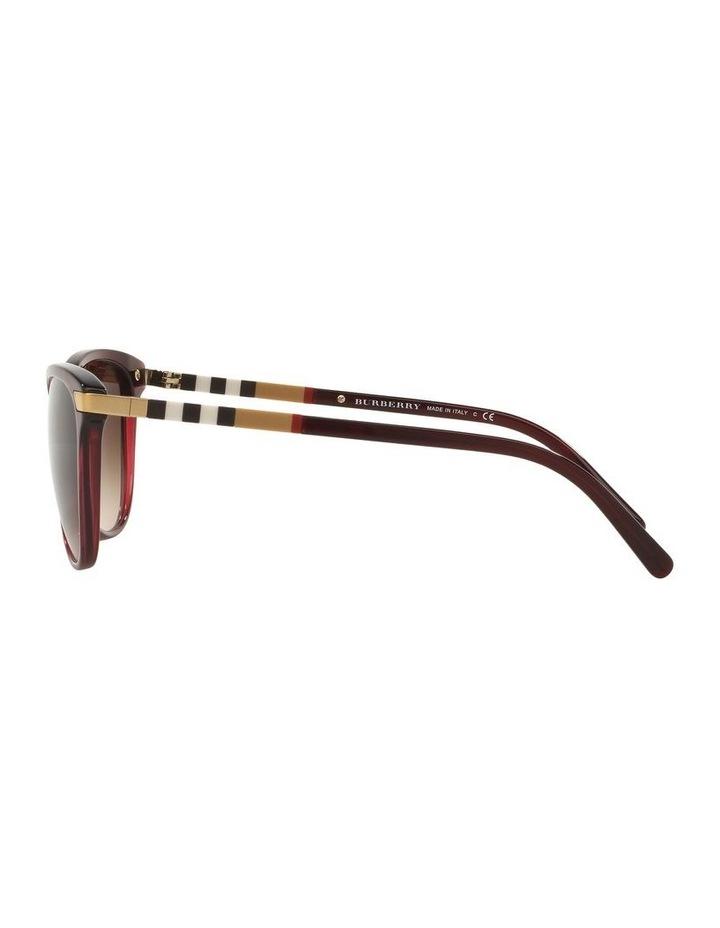 Brown Cat Eye Sunglasses 0BE4216 1510222002 image 4