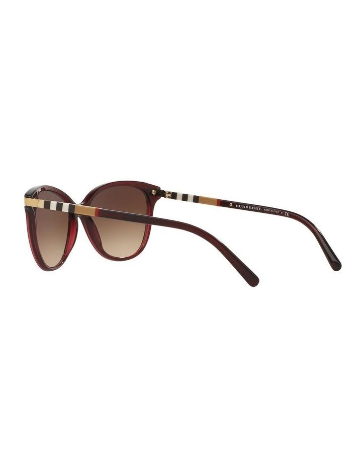 Brown Cat Eye Sunglasses 0BE4216 1510222002 image 5