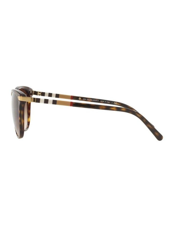 Brown Cat Eye Sunglasses 0BE4216 1510222004 image 4