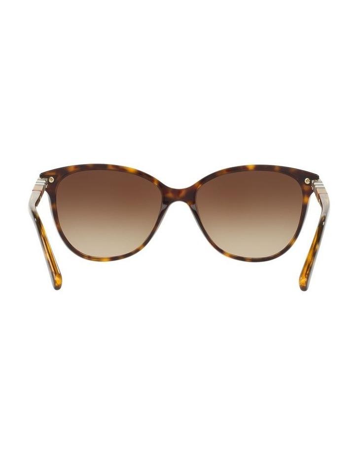 Brown Cat Eye Sunglasses 0BE4216 1510222004 image 7
