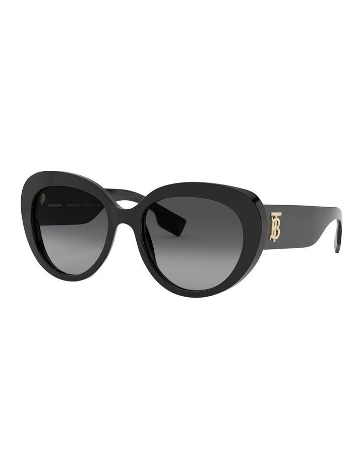 P Grey Oversized Sunglasses 0BE4298 1526407001 image 1
