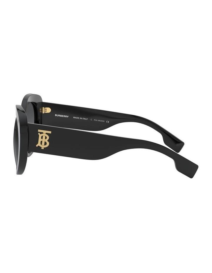P Grey Oversized Sunglasses 0BE4298 1526407001 image 4