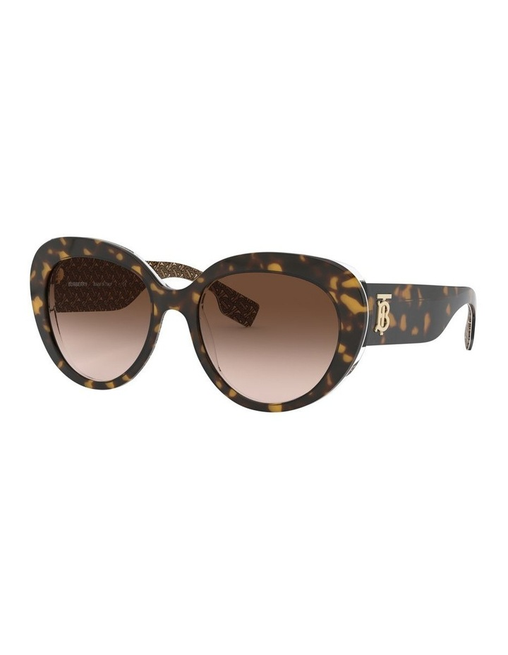 Brown Oversized Sunglasses 0BE4298 1526407002 image 1