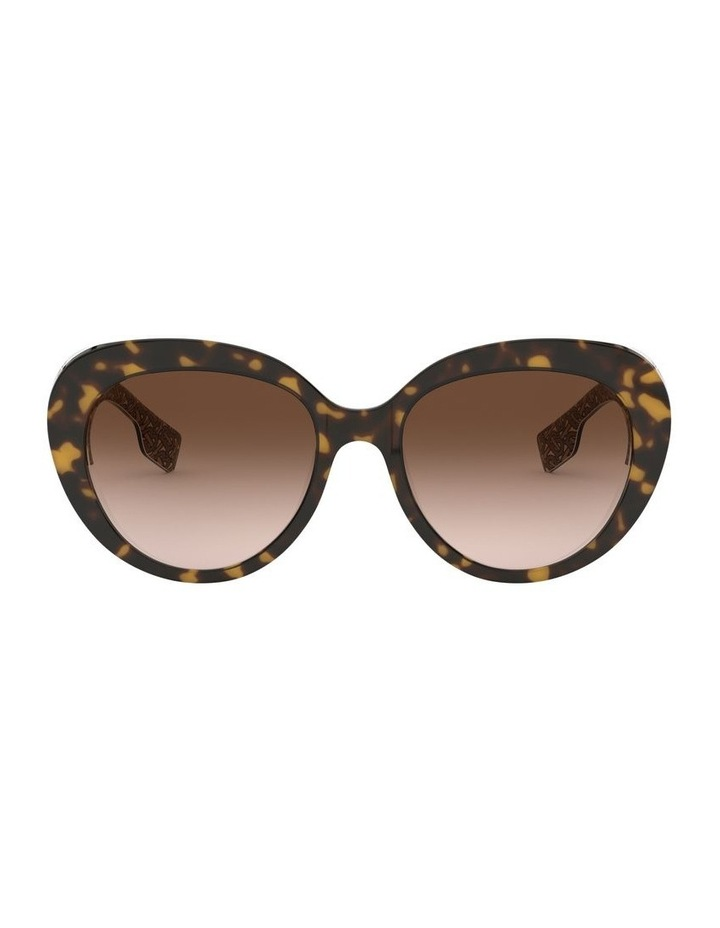 Brown Oversized Sunglasses 0BE4298 1526407002 image 2